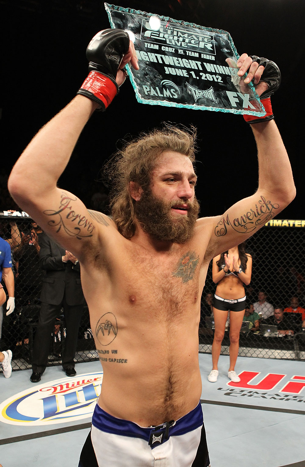 UFC lightweight Michael Chiesa