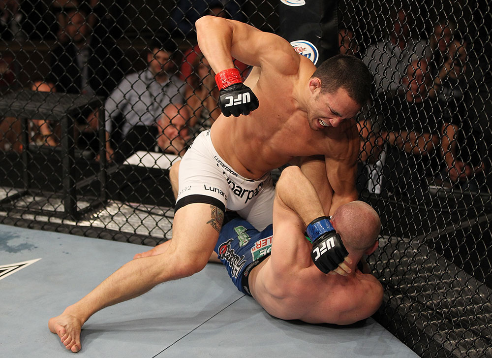 UFC welterweight Jake Ellenberger