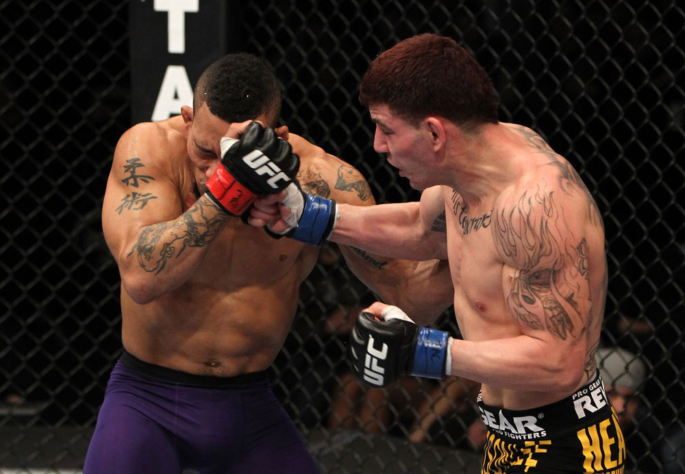 UFC bantamweight Jared Papazian