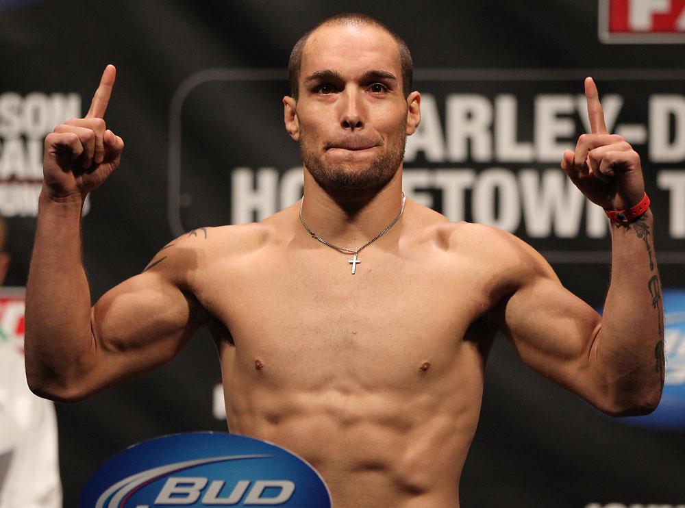 UFC lightweight Justin Salas