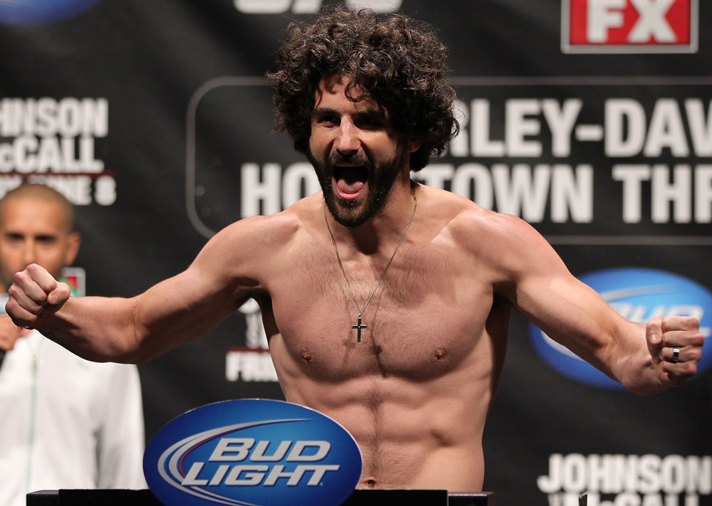 UFC welterweight Charlie Brenneman