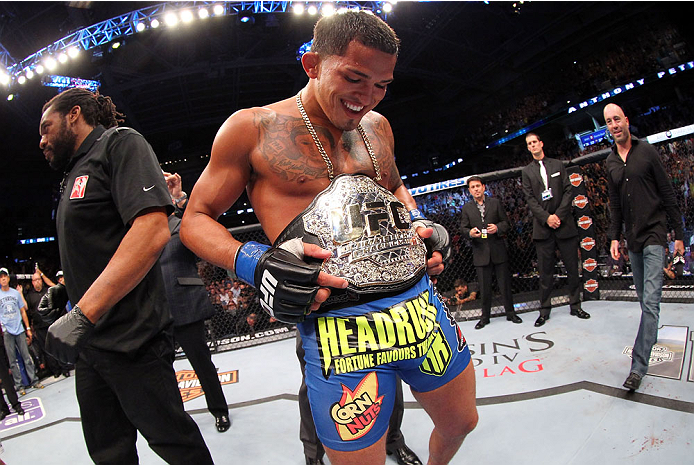 New UFC lightweight champion Anthony Pettis