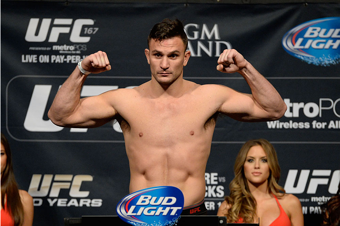 UFC light heavyweight Gian Villante