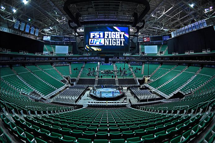 SALT LAKE CITY, UT - AUGUST 06: A general view of the arena before the UFC Fight Night event at Vivint Smart Home Arena on August 6, 2016 in Salt Lake City, Utah. (Photo by Jeff Bottari/Zuffa LLC/Zuffa LLC via Getty Images)