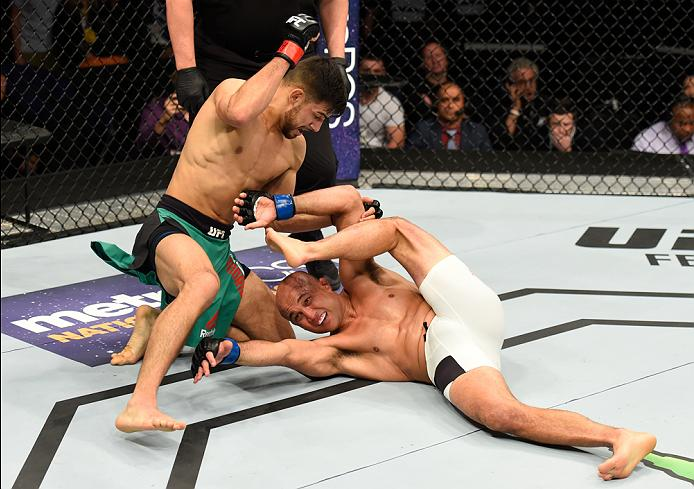 Yair Rodriguez added a signature win over <a href='../fighter/BJ-Penn'>BJ Penn</a> this past Sunday at Fight Night Phoenix