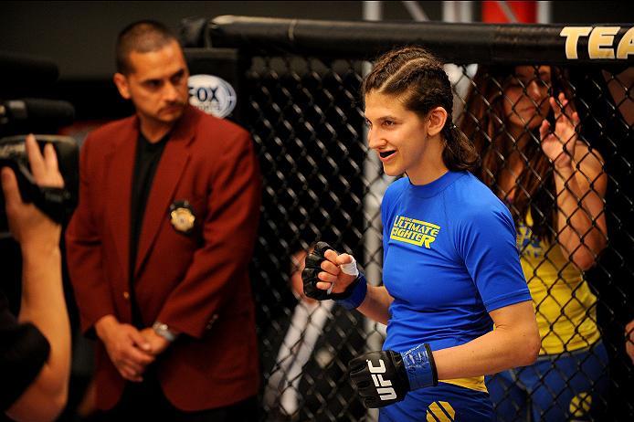 UFC bantamweight Roxanne Modafferi