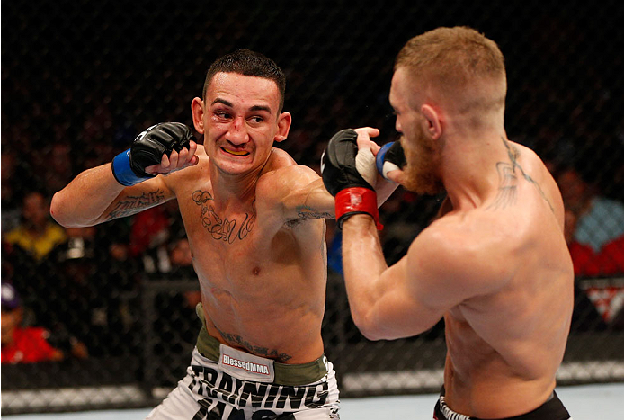 UFC featherweight Max Holloway