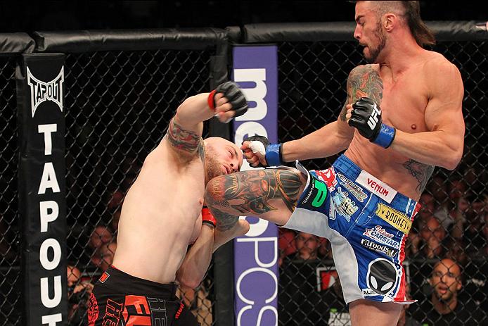 UFC welterweight Brandon Thatch