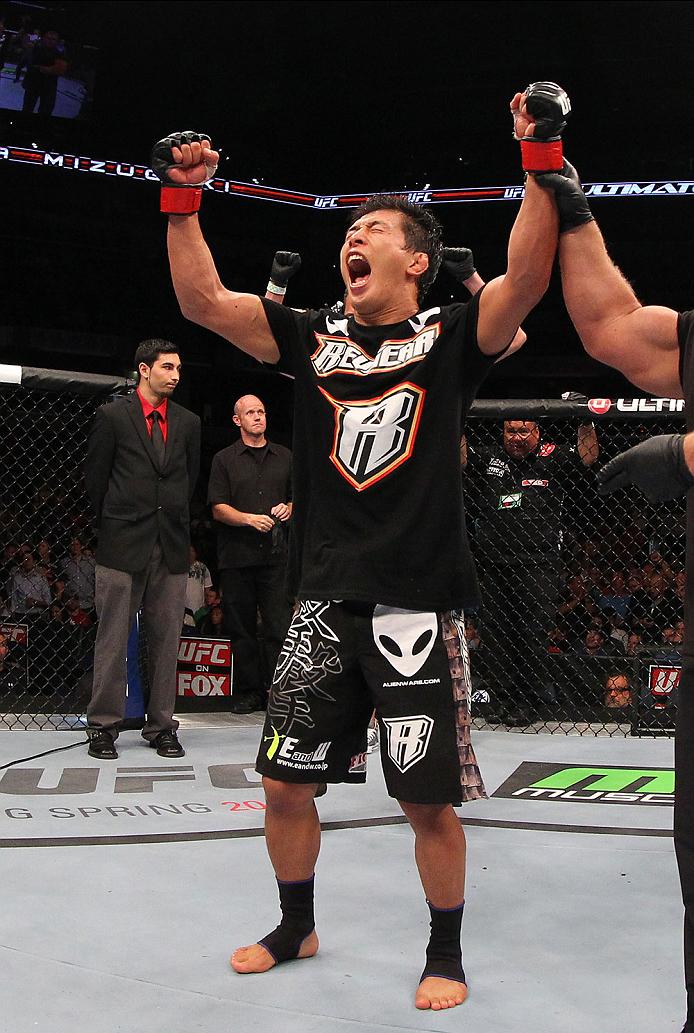 UFC bantamweight Takeya Mizugaki