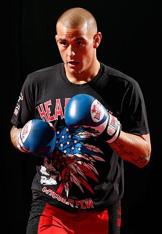 UFC featherweight Dustin Poirier
