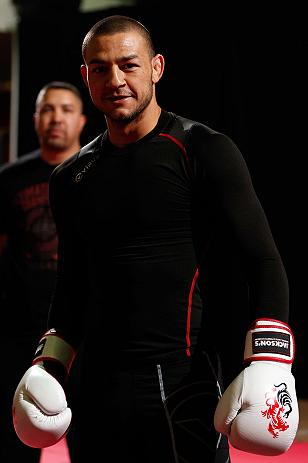 UFC featherweight Cub Swanson