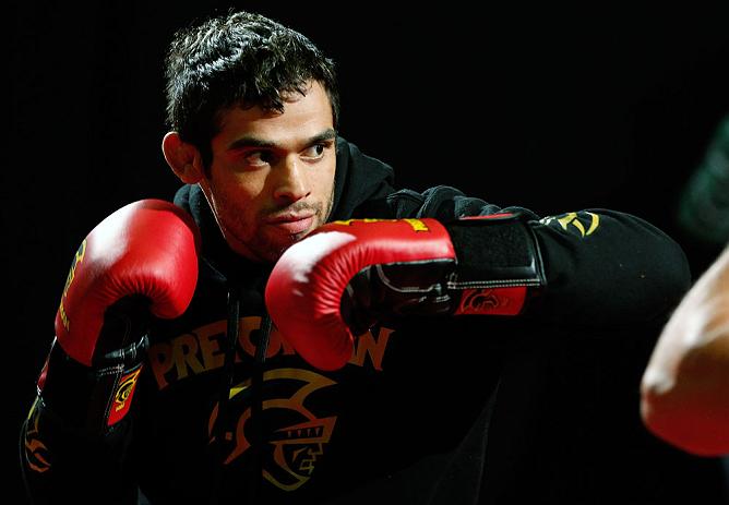 Interim UFC bantamweight champion Renan Barao