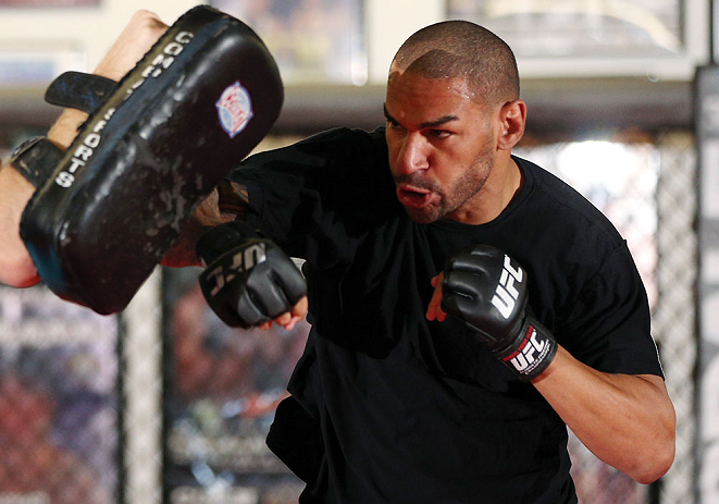 UFC welterweight Jay Hieron
