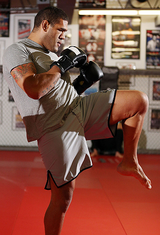UFC heavyweight Antonio Silva