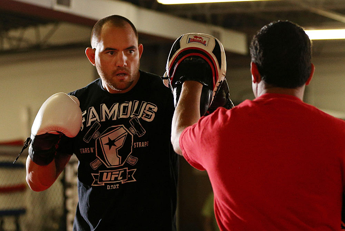 UFC heavyweight Travis Browne