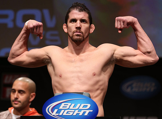 MINNEAPOLIS, MN - OCTOBER 04:  Shane Roller weighs in during the UFC on FX weigh in at Pantages Theater on October 4, 2012 in Minneapolis, Minnesota.  (Photo by Josh Hedges/Zuffa LLC/Zuffa LLC via Getty Images)