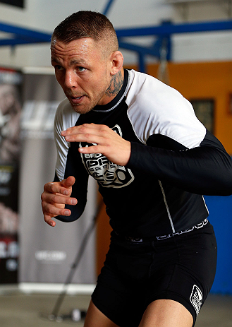 UFC lightweight Ross Pearson