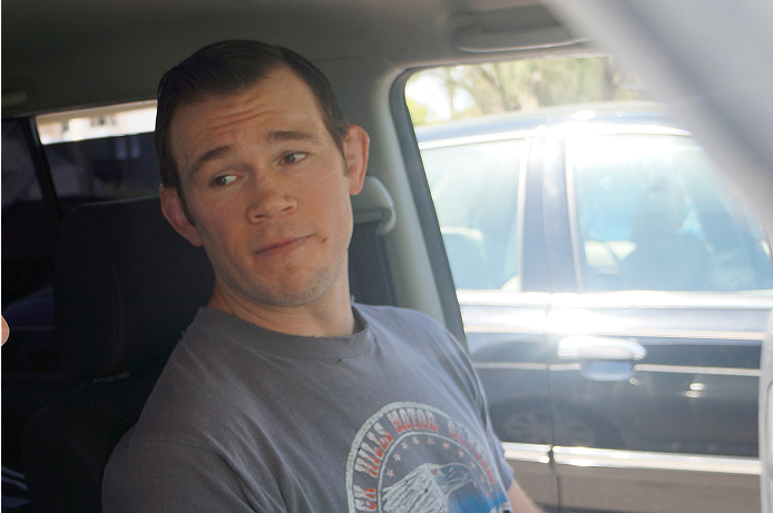 Former light heavyweight champion and inaugural Ultimate Fighter, Forrest Griffin.