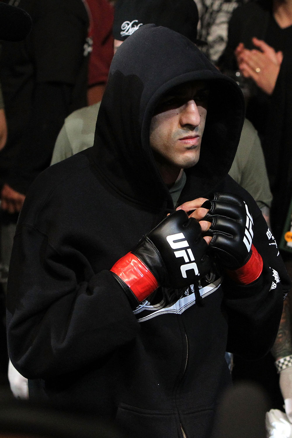 UFC 123: George Sotiropolous enters the arena.