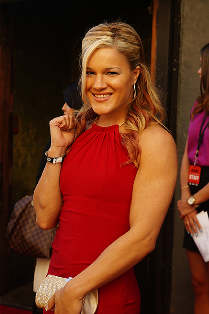 Felice Herrig poses at the Ultimate Fighter season 20 red carpet event in Los Angeles. (Photos by Jonathan Bradley/UFC.com)