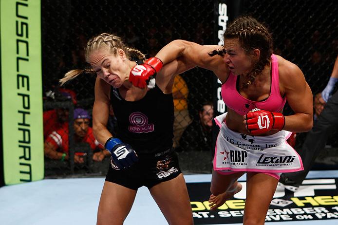 UFC bantamweight Miesha Tate
