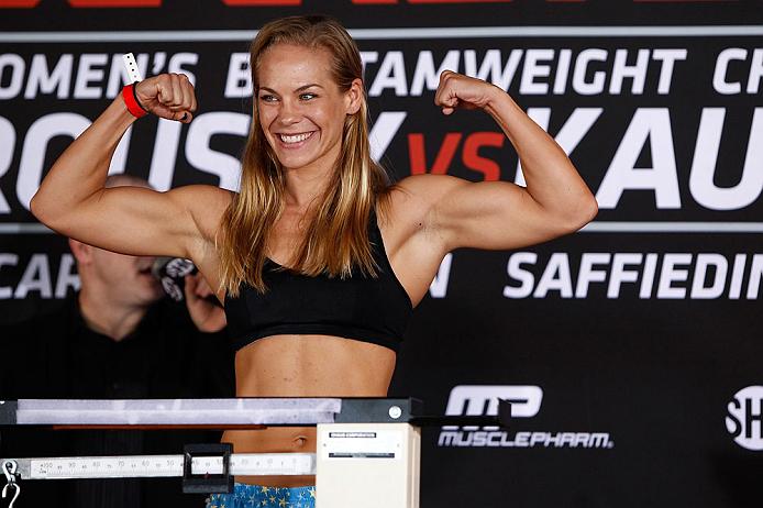 UFC bantamweight Julie Kedzie