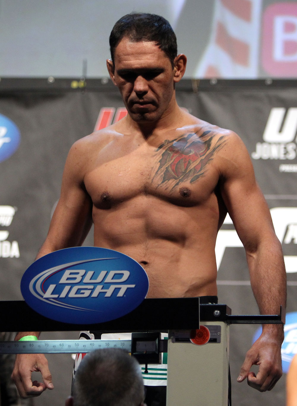 TORONTO, ON - DECEMBER 09:  Antonio Rogerio Nogueira weighs in during the UFC 140 Official Weigh-in at the Air Canada Centre on December 9, 2011 in Toronto, Canada.  (Photo by Josh Hedges/Zuffa LLC/Zuffa LLC via Getty Images)