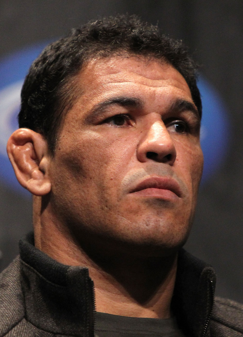 "TORONTO, ON - DECEMBER 08:  Antonio Rodrigo ""Minotauro"" Nogueira attends the final UFC 140 pre-fight press conference at Bell Tiff Lightbox Cinema1 on December 8, 2011 in Toronto, Canada.  (Photo by Josh Hedges/Zuffa LLC/Zuffa LLC via Getty Images)"
