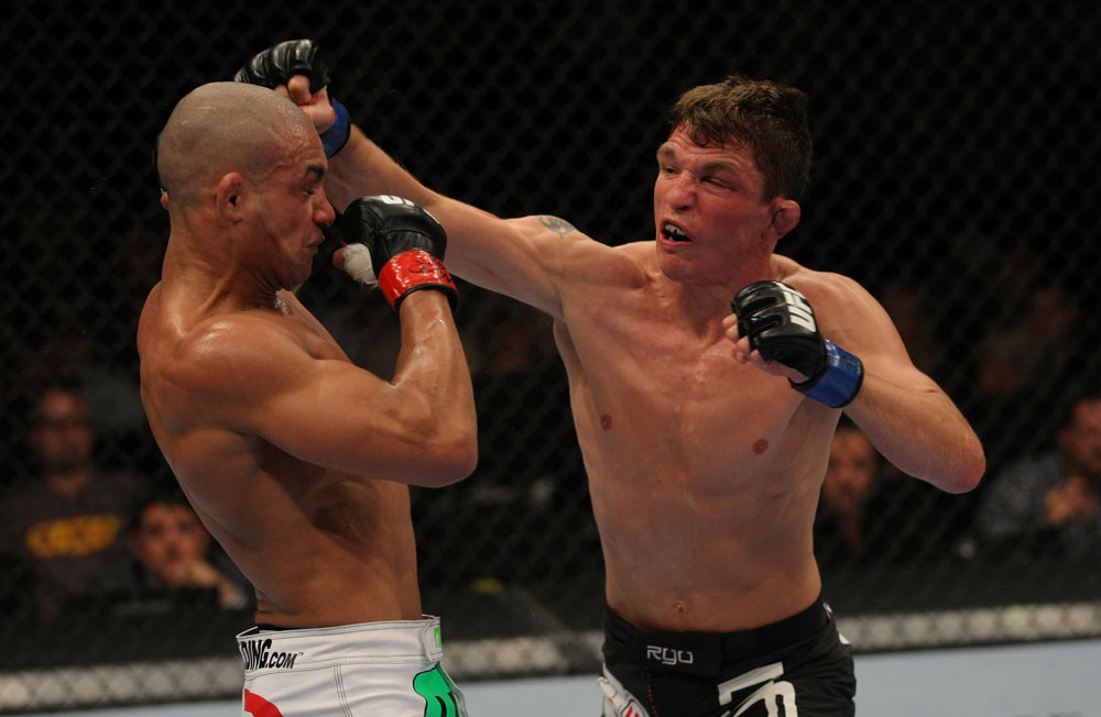 UFC featherweight Darren Elkins