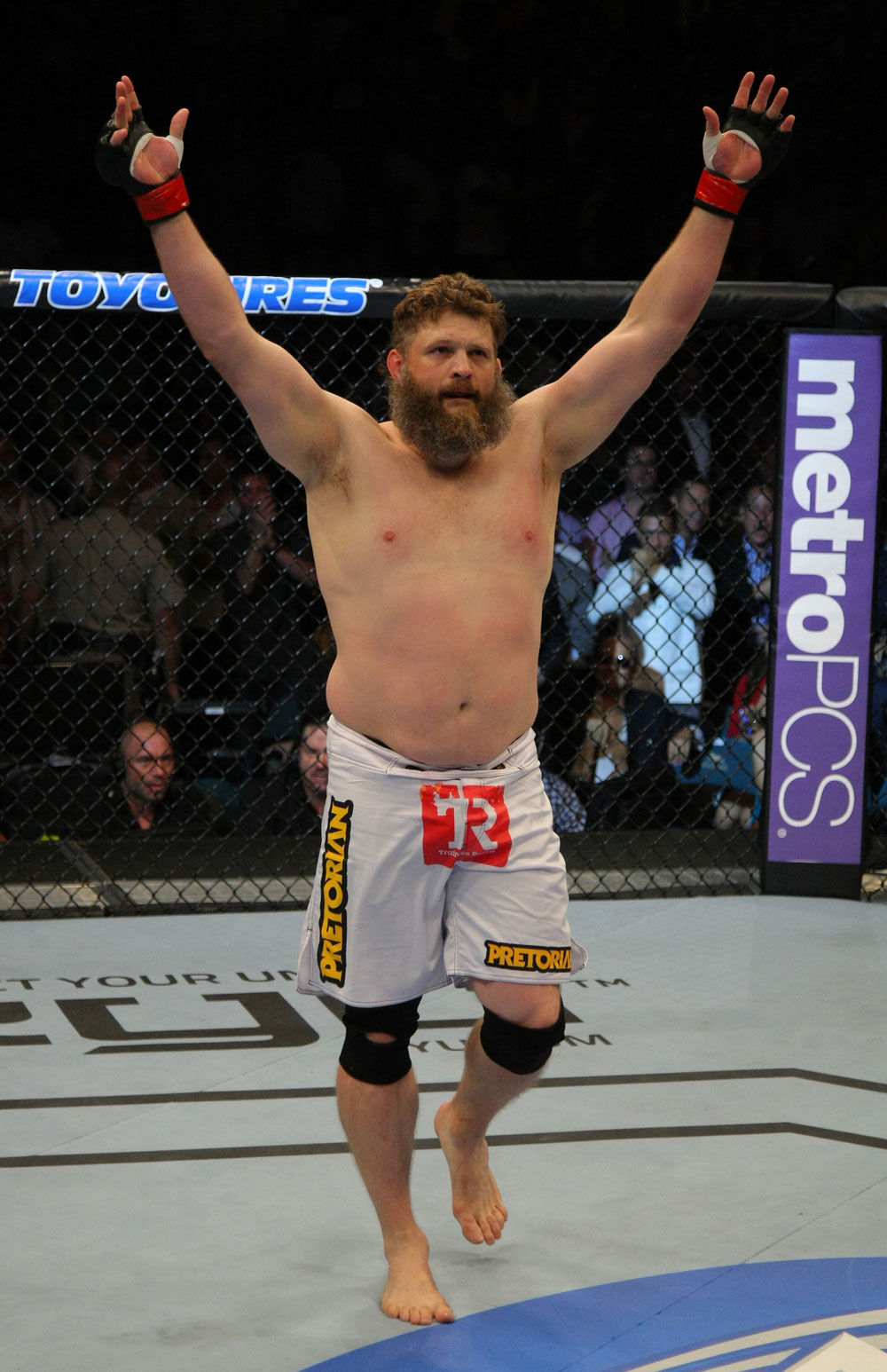 The Ultimate Fighter 16 coach Roy Nelson