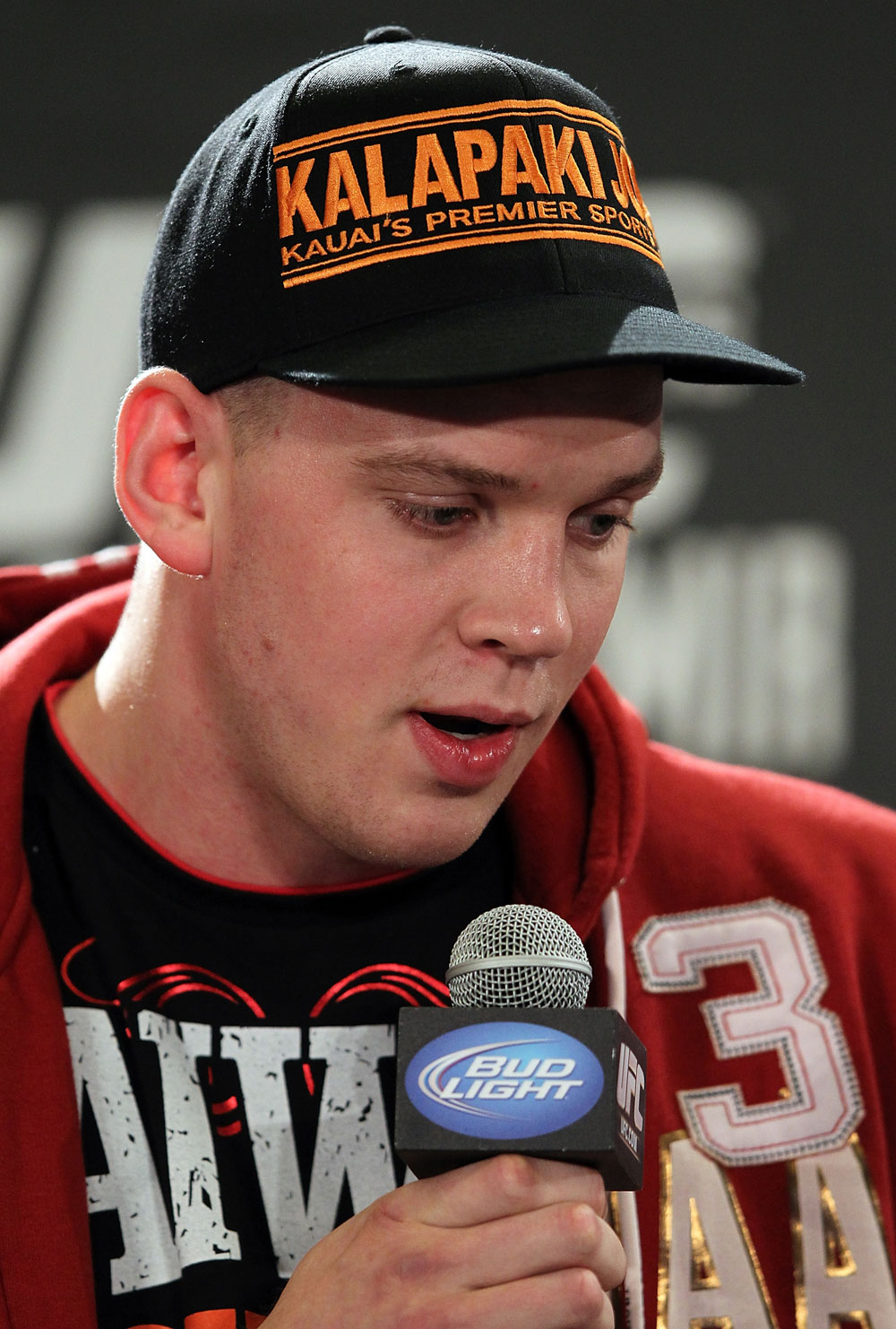 LAS VEGAS, NV - MAY 24:   Stefan Struve attends the UFC 146 press conference at MGM Grand on May 24, 2012 in Las Vegas, Nevada.  (Photo by Josh Hedges/Zuffa LLC/Zuffa LLC via Getty Images)