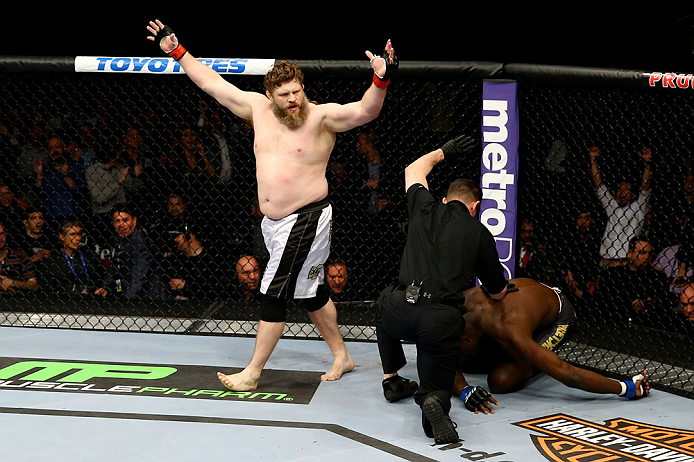 UFC heavyweight Roy Nelson