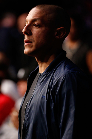 NEWARK, NJ - APRIL 27:   Actor Theo Rossi attends the UFC 159 event at the Prudential Center on April 27, 2013 in Newark, New Jersey.  (Photo by Josh Hedges/Zuffa LLC/Zuffa LLC via Getty Images)