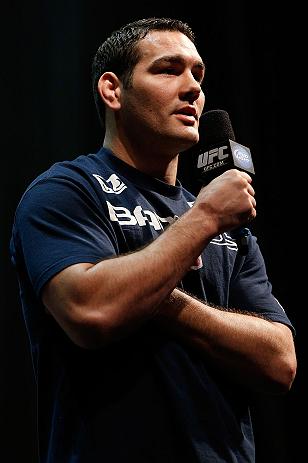 UFC middleweight Chris Weidman