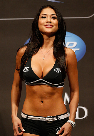 Good, agree ufc octagon girl arianny celeste can
