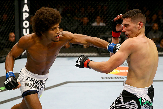 UFC bantamweight Alex Caceres
