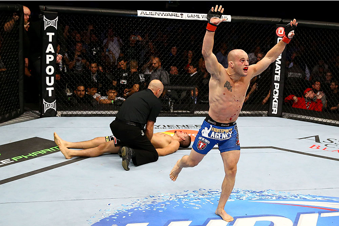 Gagnon celebrates a submission victory