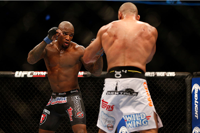 UFC middleweight Francis Carmont