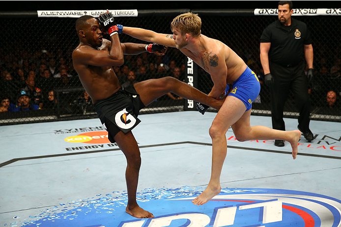 Gustafsson lost a close decision in his first fight against Jones in 2013.