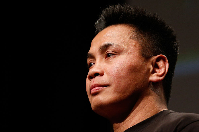 SAN JOSE, CA - APRIL 19:  Cung Le interacts with fans during a Q&A session before the UFC on FOX weigh-in at the California Theatre on April 19, 2013 in San Jose, California.  (Photo by Josh Hedges/Zuffa LLC/Zuffa LLC via Getty Images)