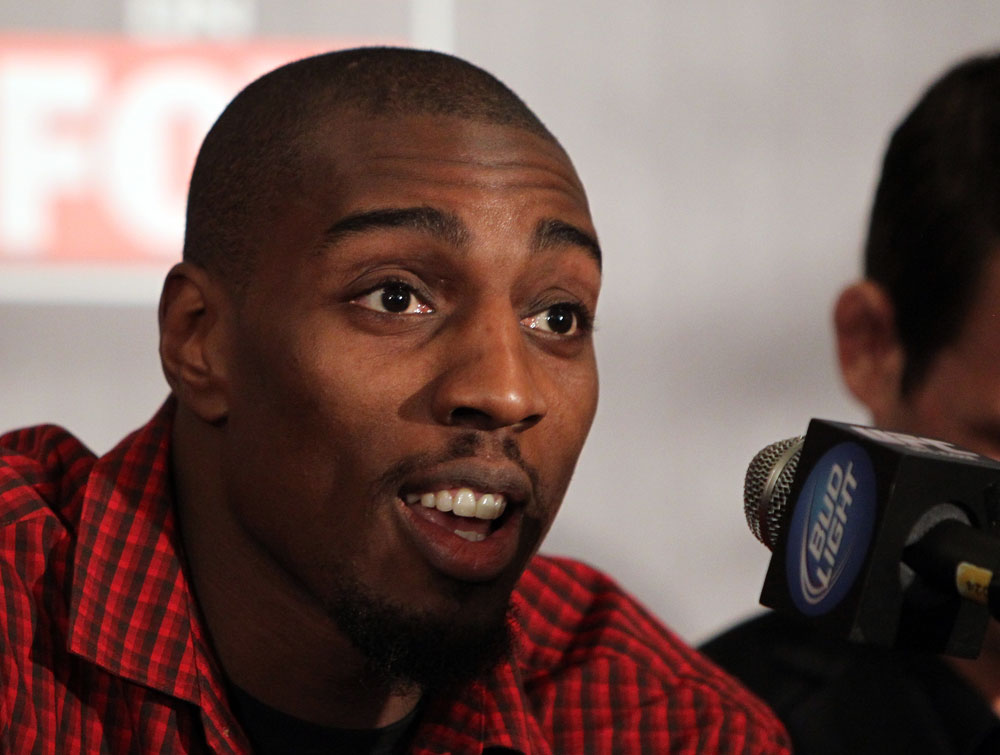 CHICAGO, IL - JANUARY 26:  Phil Davis attends the UFC on FOX press conference at the W Hotel on January 26, 2012 in Chicago, Illinois.  (Photo by Josh Hedges/Zuffa LLC/Zuffa LLC via Getty Images) *** Local Caption *** Phil Davis