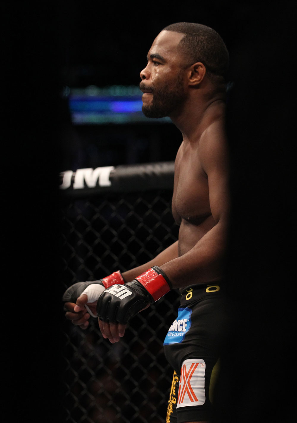 Former UFC light heavyweight champ Rashad Evans
