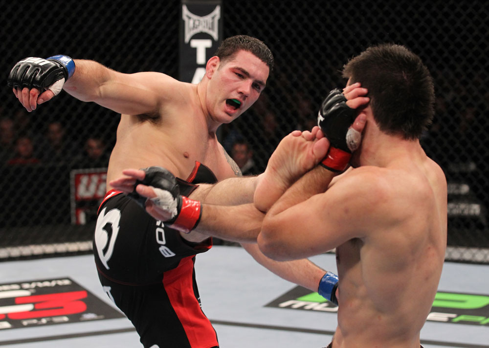 UFC middleweight Chris Weidman