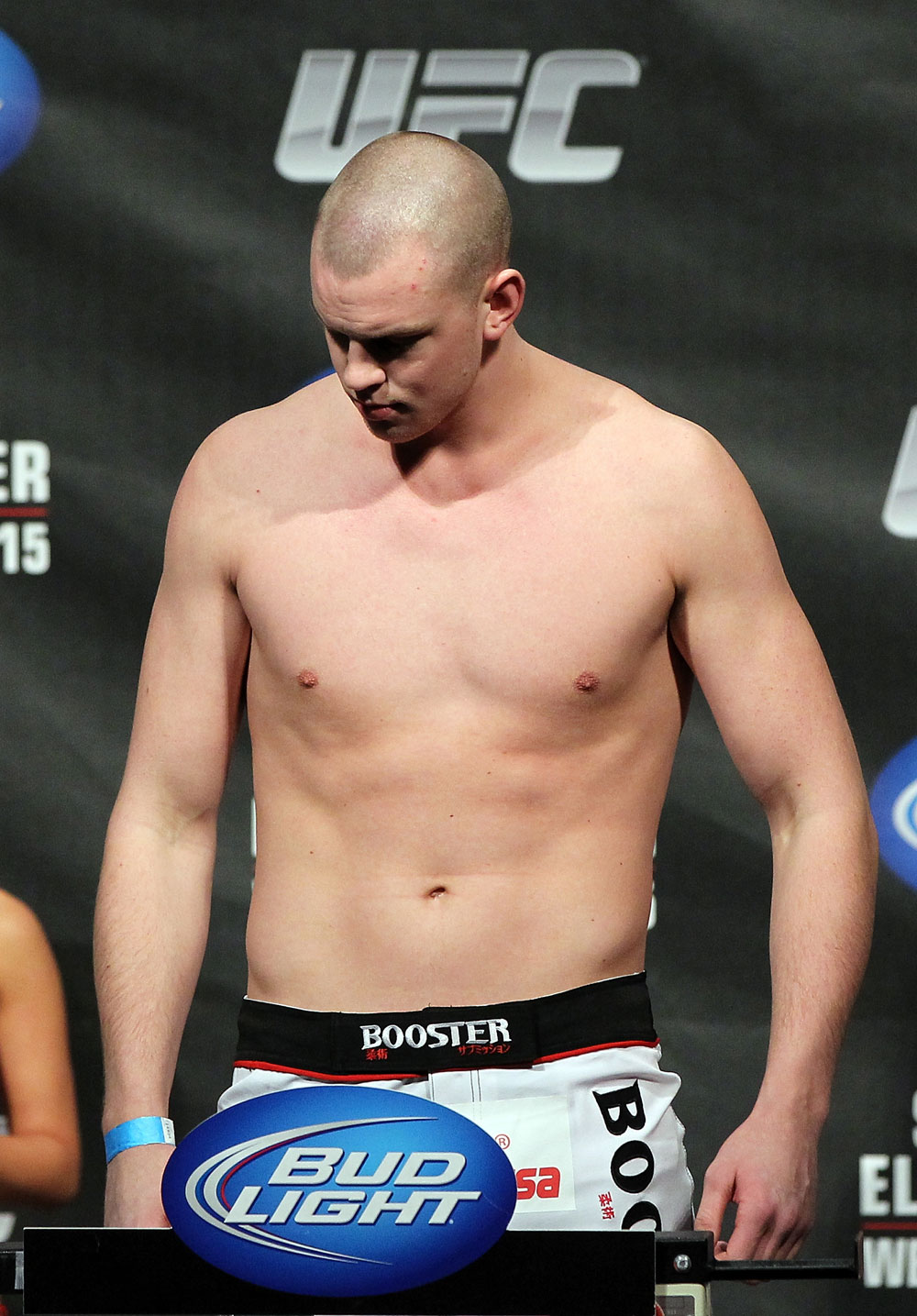 OMAHA, NE - FEBRUARY 14:  Stefan Struve weighs in during the UFC on FUEL TV weigh in event at Omaha Civic Auditorium on February 14, 2012 in Omaha, Nebraska.  (Photo by Josh Hedges/Zuffa LLC/Zuffa LLC via Getty Images) *** Local Caption *** Stefan Struve