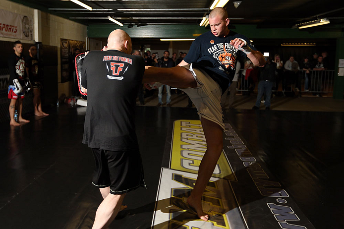 UFC heavyweight Stefan Struve