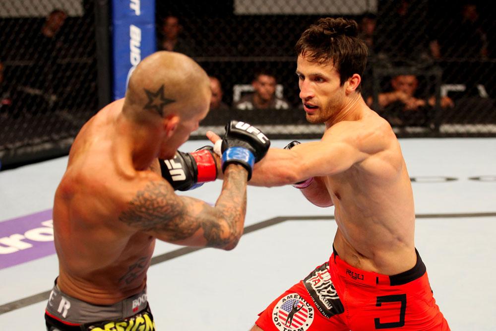 UFC bantamweight Ken Stone