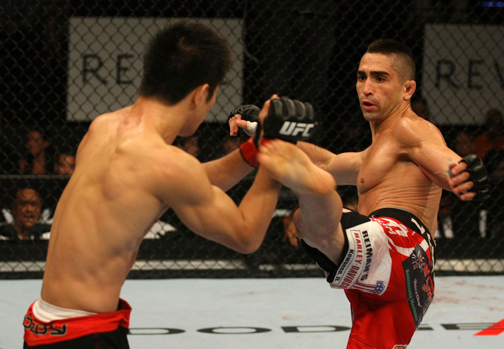 UFC featherweight Ricardo Lamas