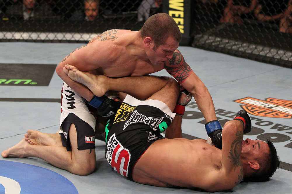 UFC featherweight Matt Grice