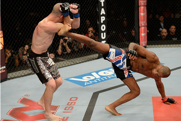 UFC lightweight Alan Patrick