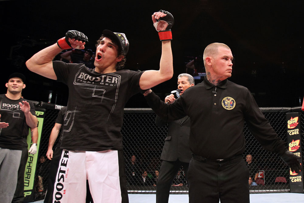 UFC bantamweight Roland Delorme